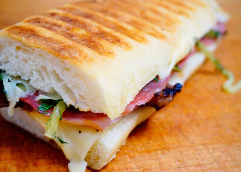 Кубинский сэндвич приготовление фото