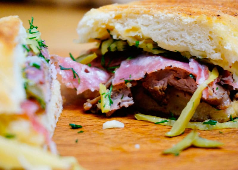 Кубинский сэндвич рецепт фото