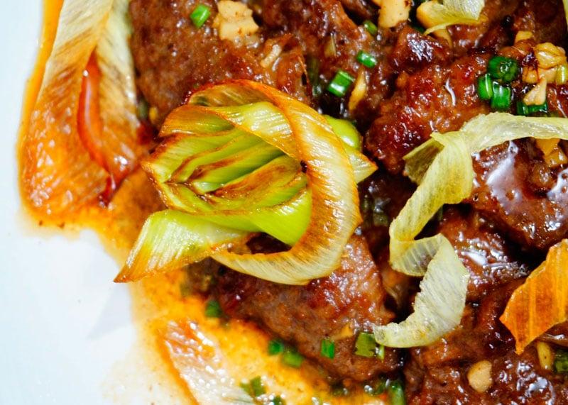 Мясо по-монгольски рецепт приготовления фото