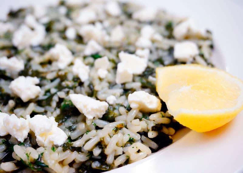 Рис спанакоризо рецепт фото