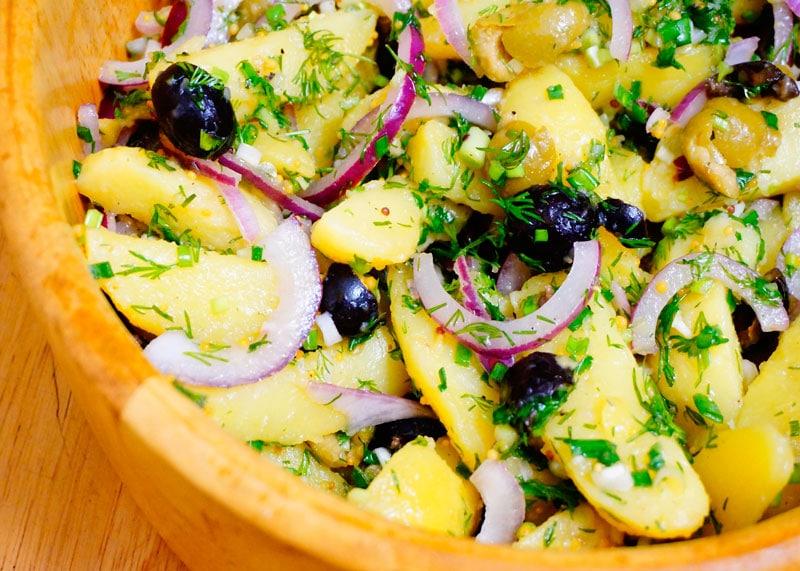 Картофельный салат с Икарии фото