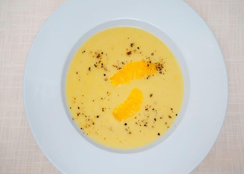 Крем-суп из корнеплодов рецепт фото