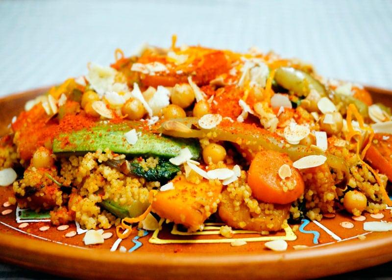 Кус-кус с овощами по-тунисски рецепт фото