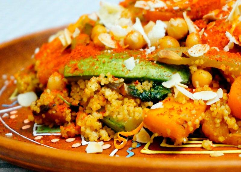 Кус-кус с овощами по-тунисски фото