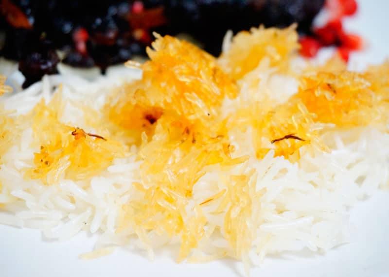 Рис на пару по-персидски фото