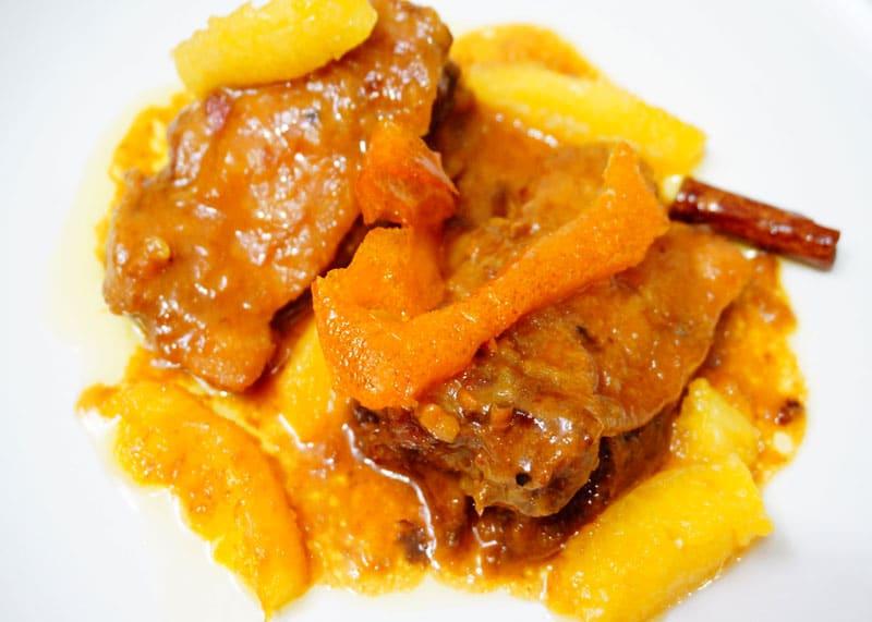 Цыпленок с апельсинами по-сицилийски рецепт фото