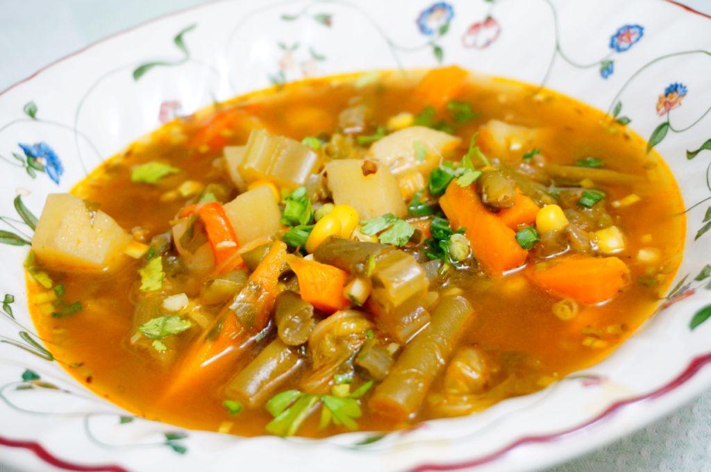 Овощной суп на каждый день рецепт фото