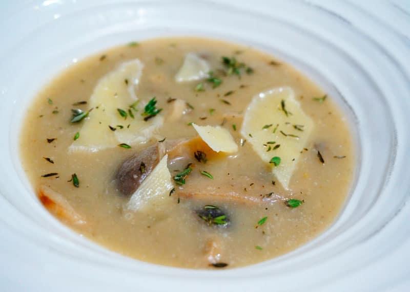 Полезный грибной суп фото
