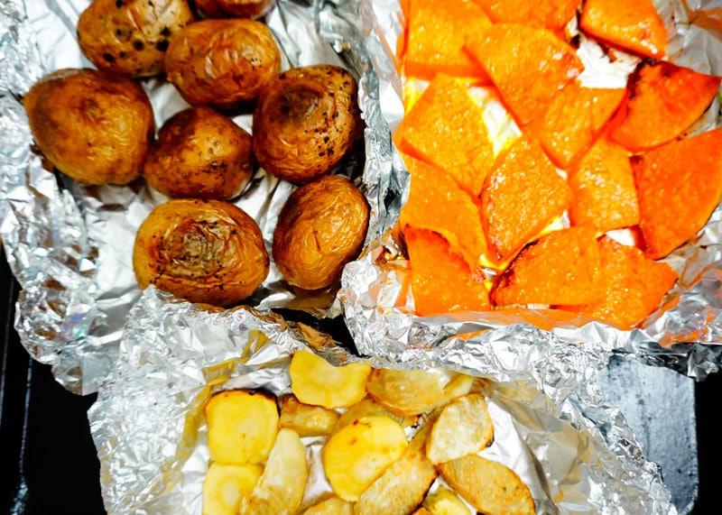 Пюре из картофеля и тыквы фото