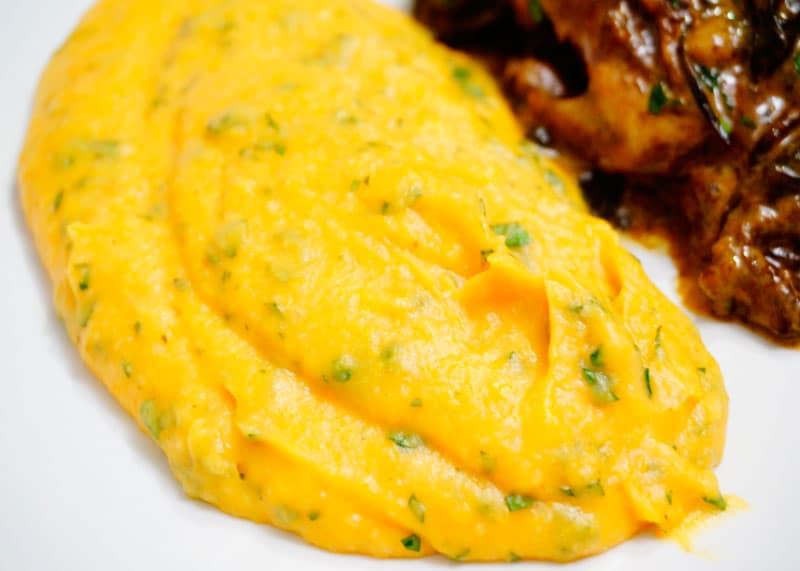 Пюре из картофеля и тыквы рецепт фото