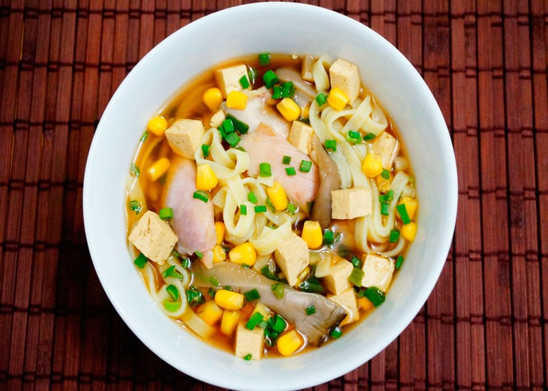 Китайский суп с кукурузой рецепт фото