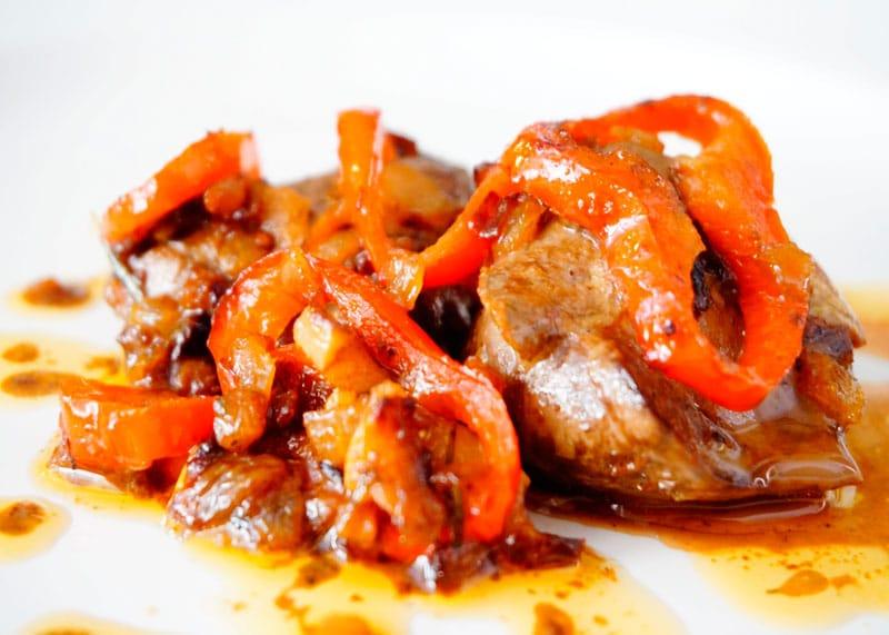 Рыбная печень с овощами рецепт фото
