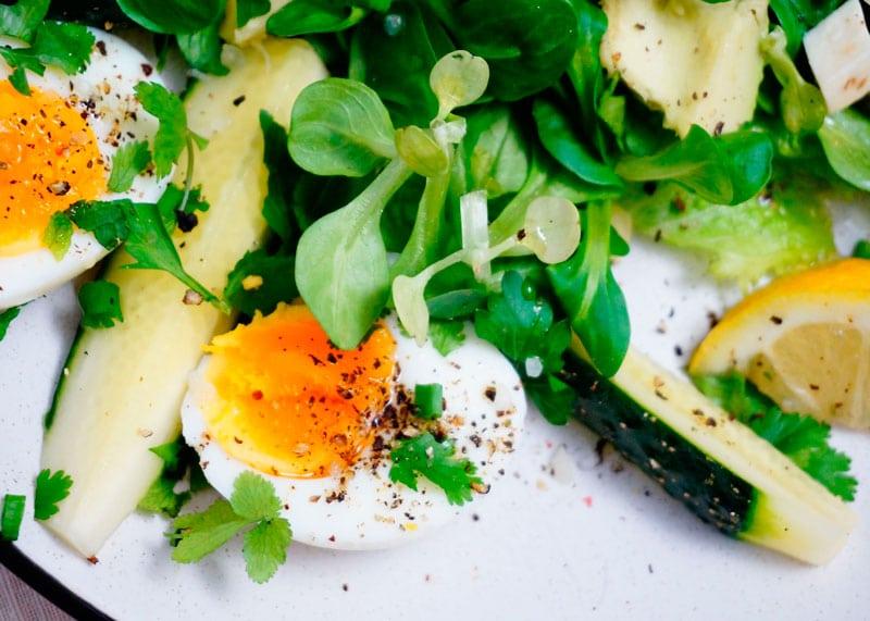 Зеленый салат по-австрийски рецепт фото
