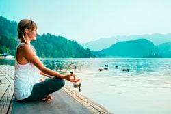 Медитация перед сном фото