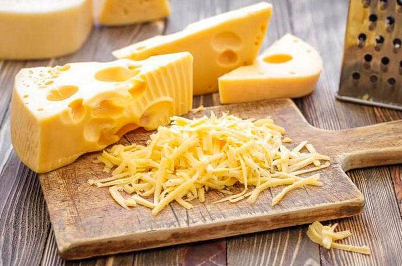 Натертый сыр фото