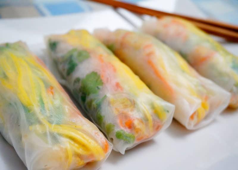Острые роллы с пекинской капустой рецепт фото