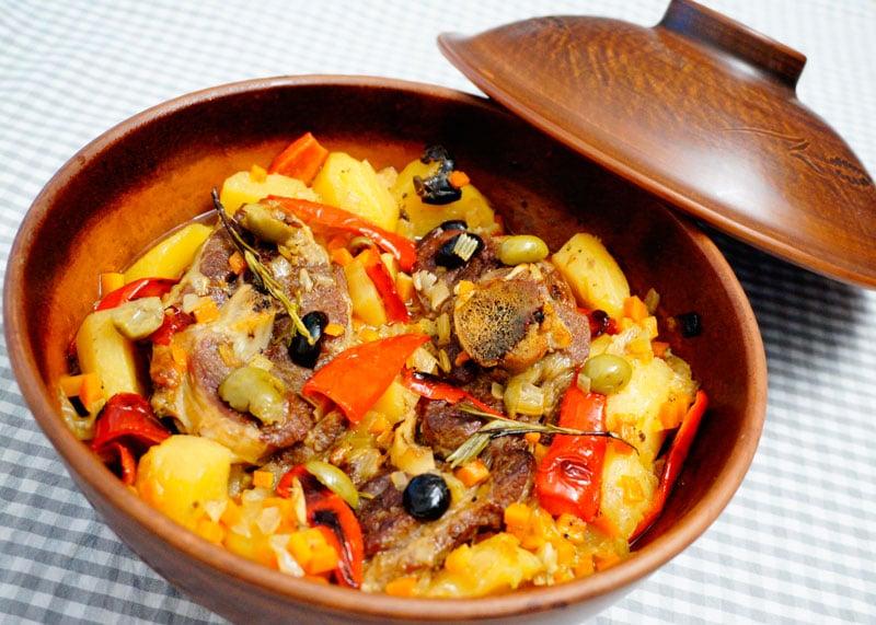 Рецепт рагу из баранины с картофелем фото