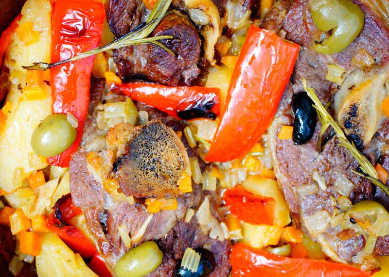 Рагу из баранины с картофелем рецепт фото