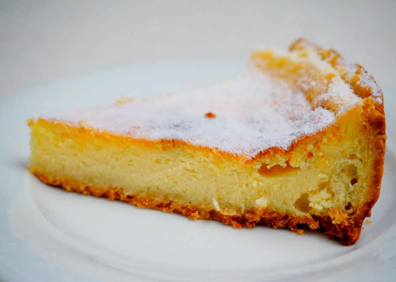 Тарт с лимонным суфле рецепт фото