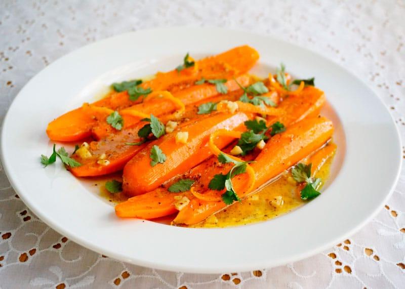 Жареная морковь с тмином приготовление фото