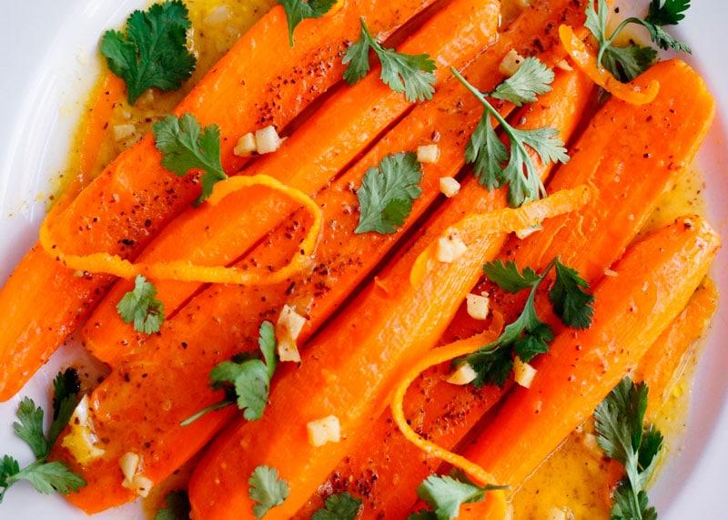 Жареная морковь с тмином фото