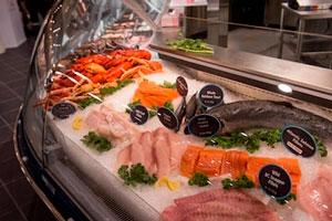 Магазин морепродукты фото