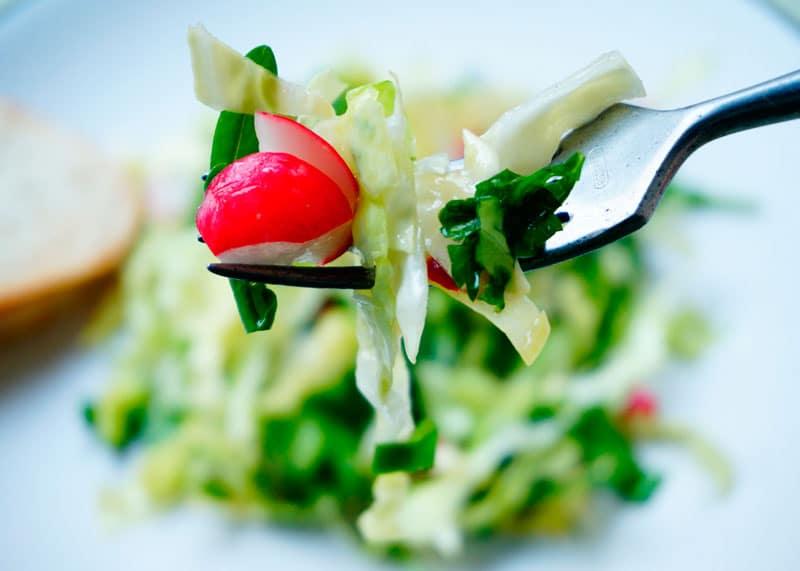 Первый весенний салат рецепт фото