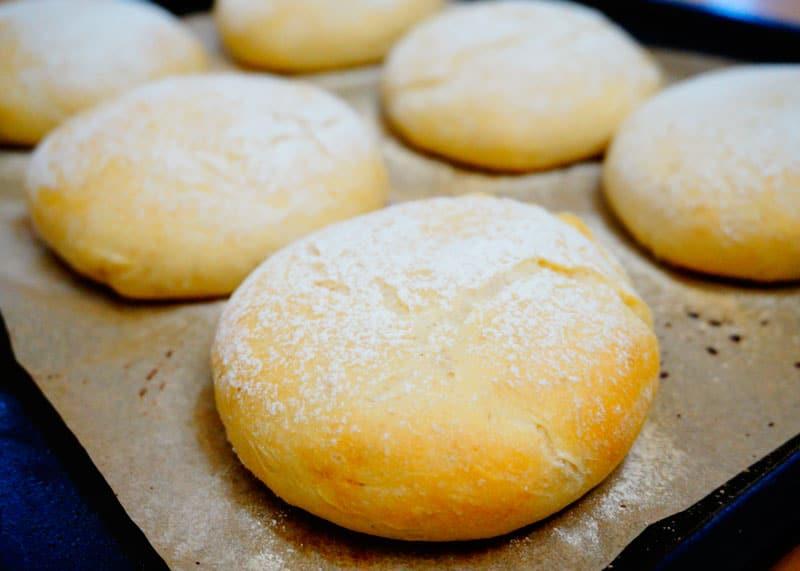 Шотландские булочки бап приготовление фото
