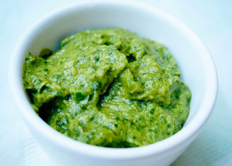 Соус из зеленого лука рецепт фото