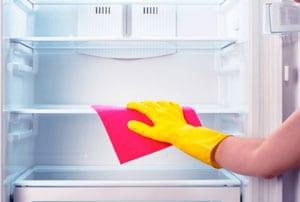 Уборка в холодильнике фото
