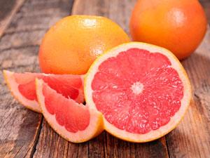 Розовый грейпфрут фото