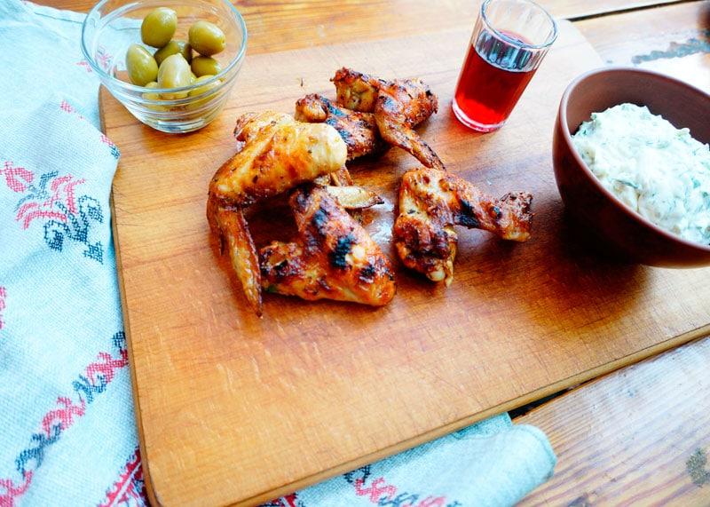 Хрустящие крылышки в сухом маринаде рецепт приготовления фото