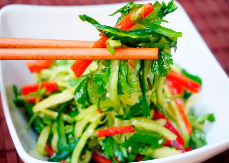 Китайский салат старый тигр рецепт фото