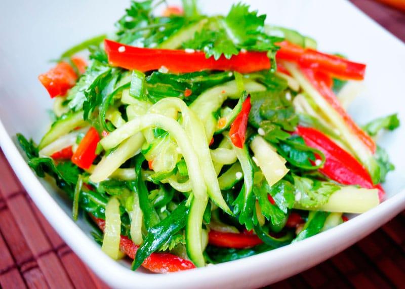 Китайский салат старый тигр приготовление фото