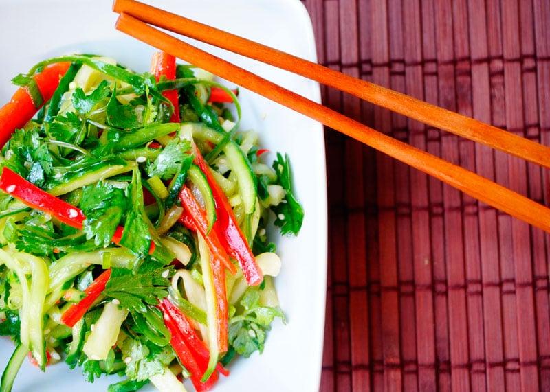 Китайский салат старый тигр фото