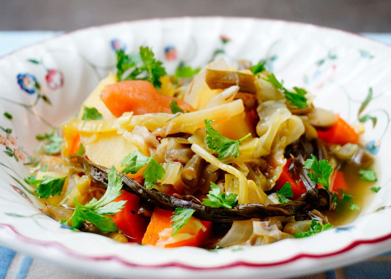 Овощное рагу стох гелах рецепт фото