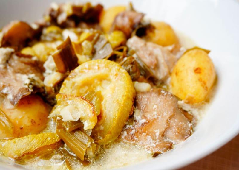 Картофель с лесными грибами приготовление фото