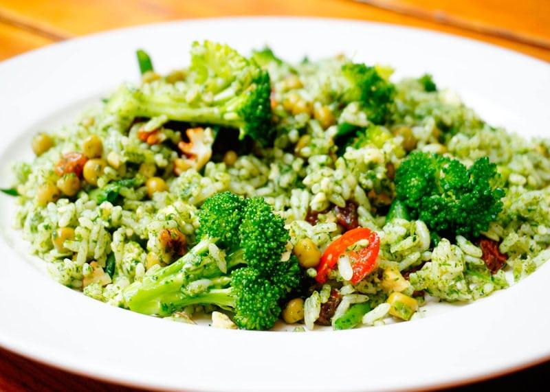Плов из риса и зелени рецепт фото