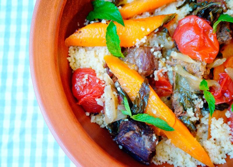 Рагу из говядины и молодой моркови фото