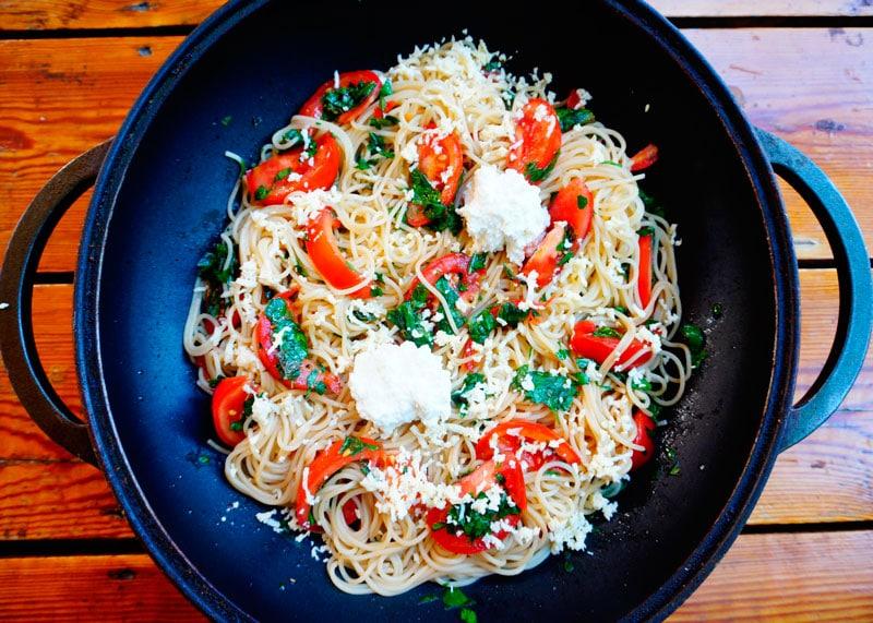 Спагетти алла феличе фото