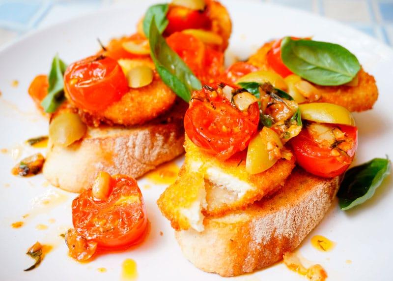 Бутерброды с жаренным сыром фото