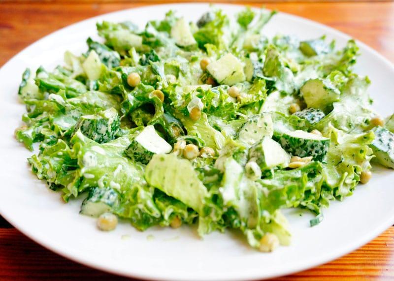 Самый зеленый салат от Джессики Батилана фото