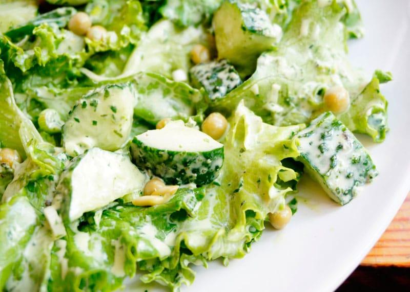 Самый зеленый салат от Джессики Батилана рецепт фото