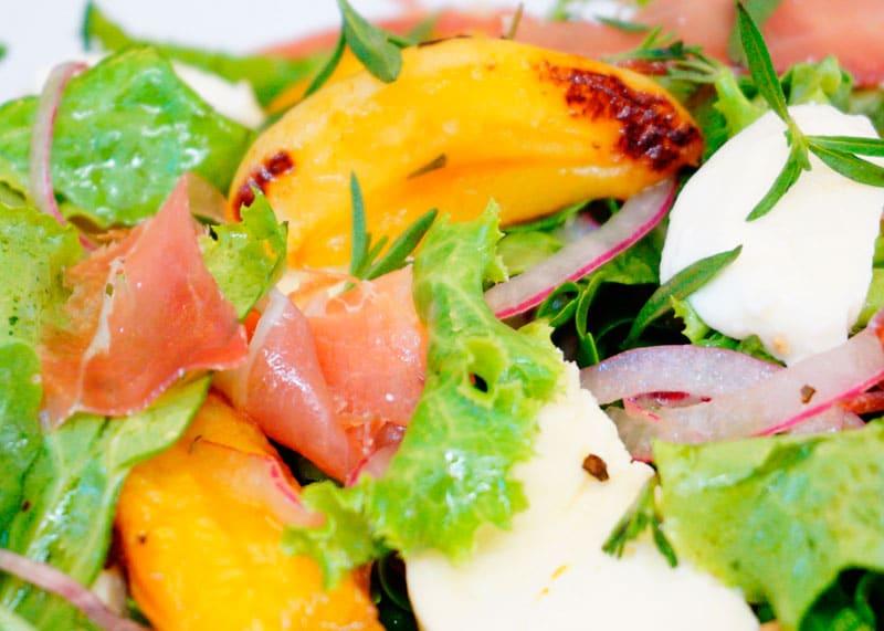 Итальянский салат из абрикосов рецепт фото