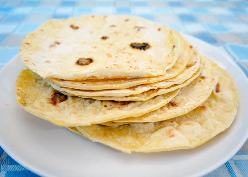 Кукурузные тортиллас рецепт фото