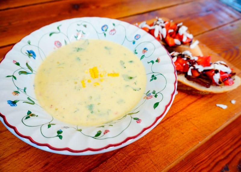 Кукурузный крем-суп по-мексикански рецепт фото