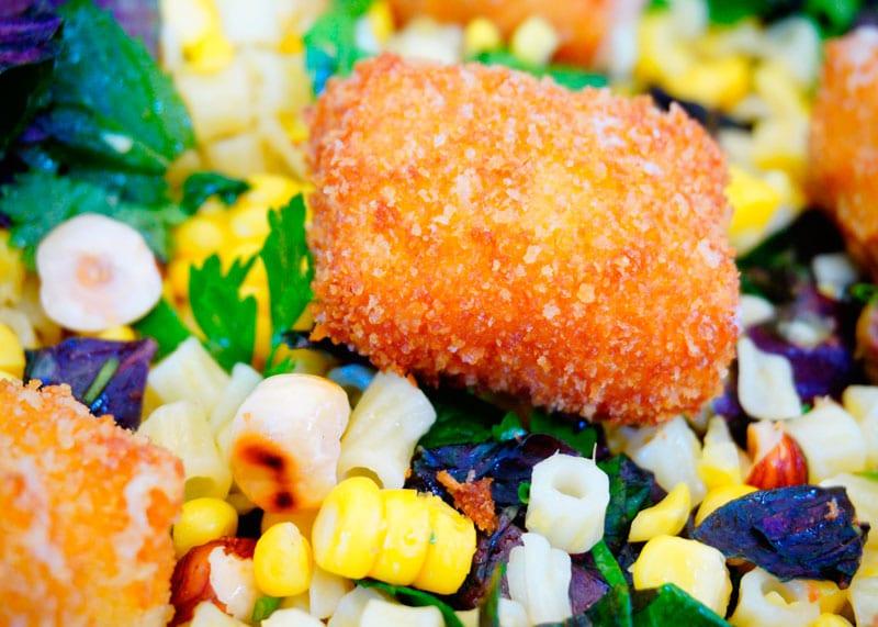 Салат из кукурузы и диталини приготовление фото