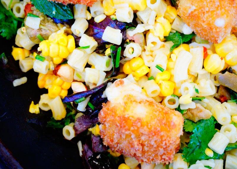 Салат из кукурузы и диталини фото
