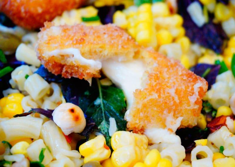 Салат из кукурузы и диталини рецепт фото
