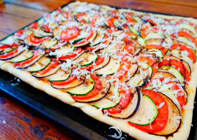Пицца-рататуй рецепт фото